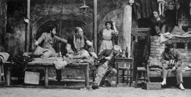 Тема гуманизма в пьесе Горького «На дне»