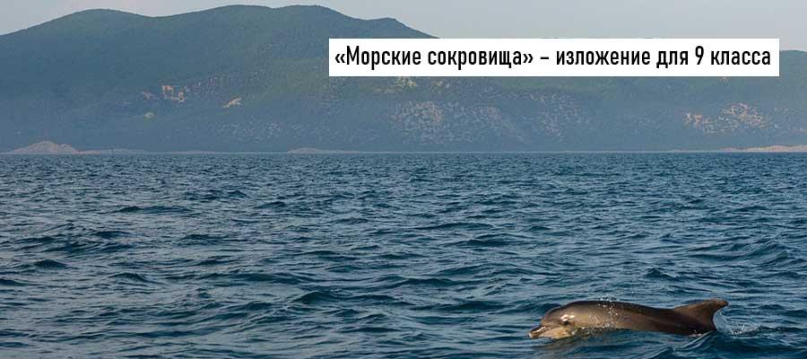 Текст изложения «Морские сокровища» – Русский язык – 9 класс